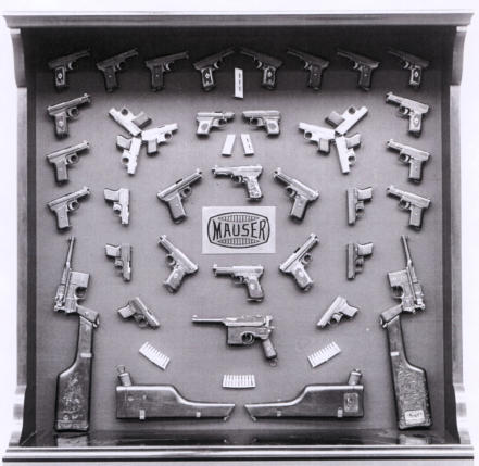 Mauser Pistol Display. All Rights Reserved.
